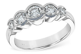 A138-69861: LDS WED RING 1.00 TW