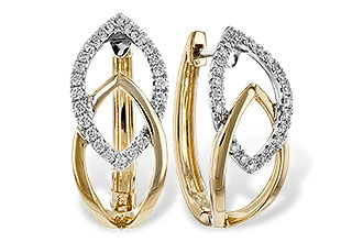 G235-08079: EARRINGS .25 TW
