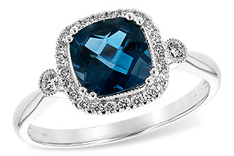 K235-01661: LDS RG 1.62 LONDON BLUE TOPAZ 1.78 TGW